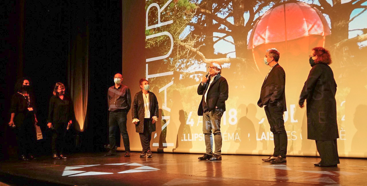 Le jury pro de la 14e édition de Corsica.Doc sur la scène du Palais des Congrès ©LH