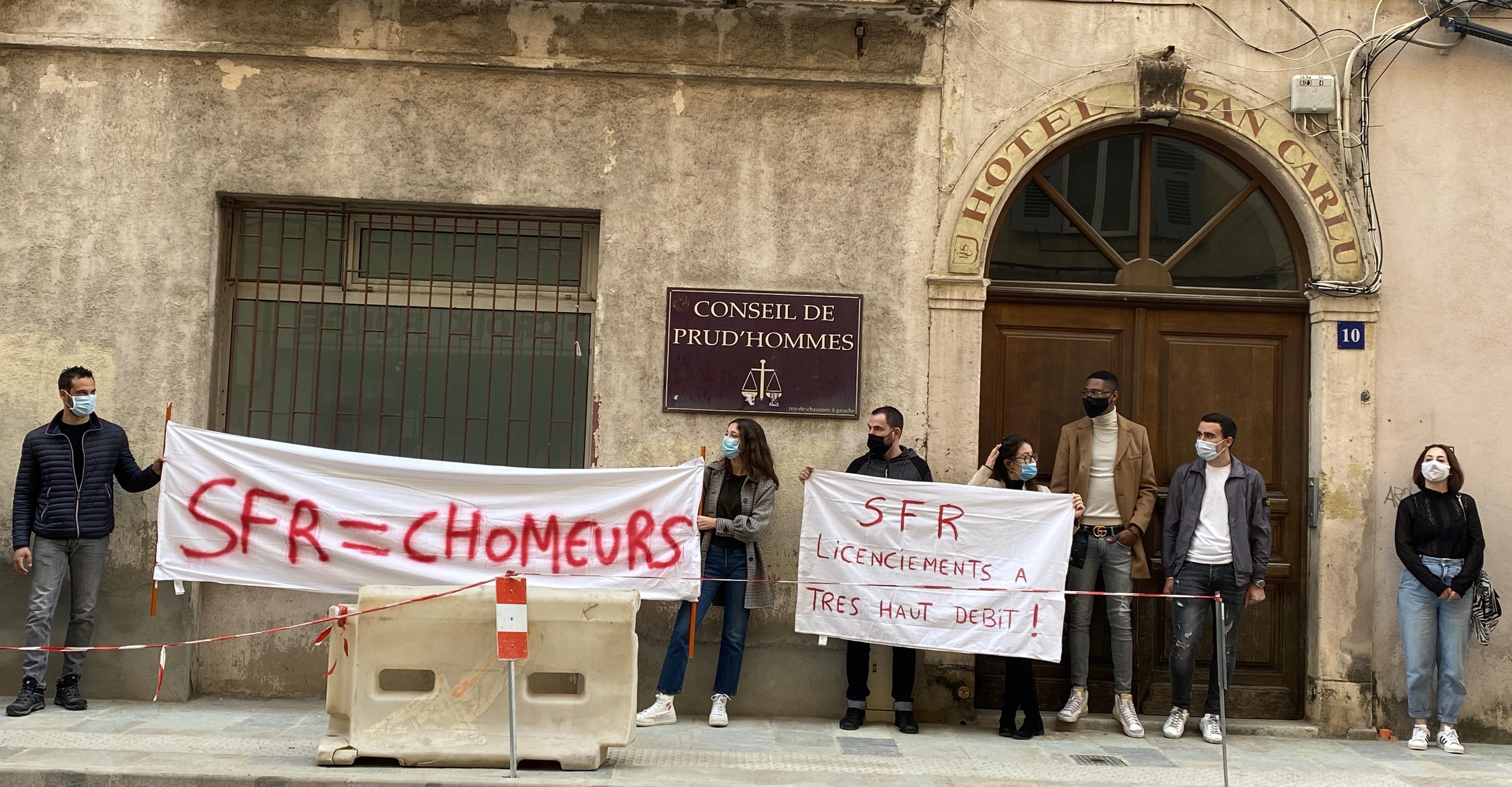 Corse GSM-SFR : la suite au Conseil des prud'hommes
