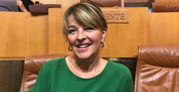 Bianca Fazi, médecin aux urgences à l'hôpital d'Ajaccio et conseillère exécutive en charge des questions sanitaires et sociales à la Collectivité de Corse. Photo CNI.