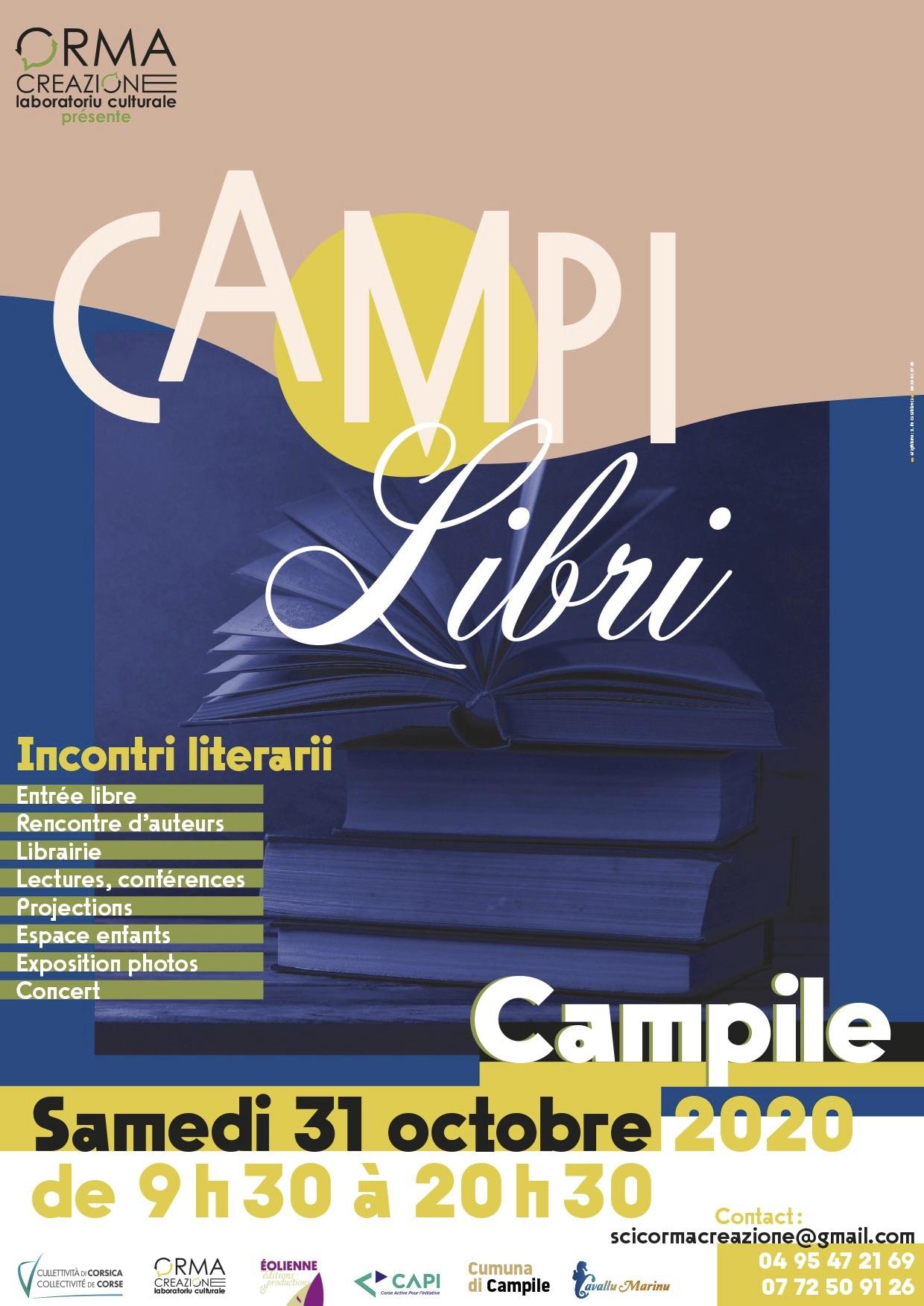 Campilibri, les rencontres littéraires de Campile vous donnent rendez-vous le  31 octobre