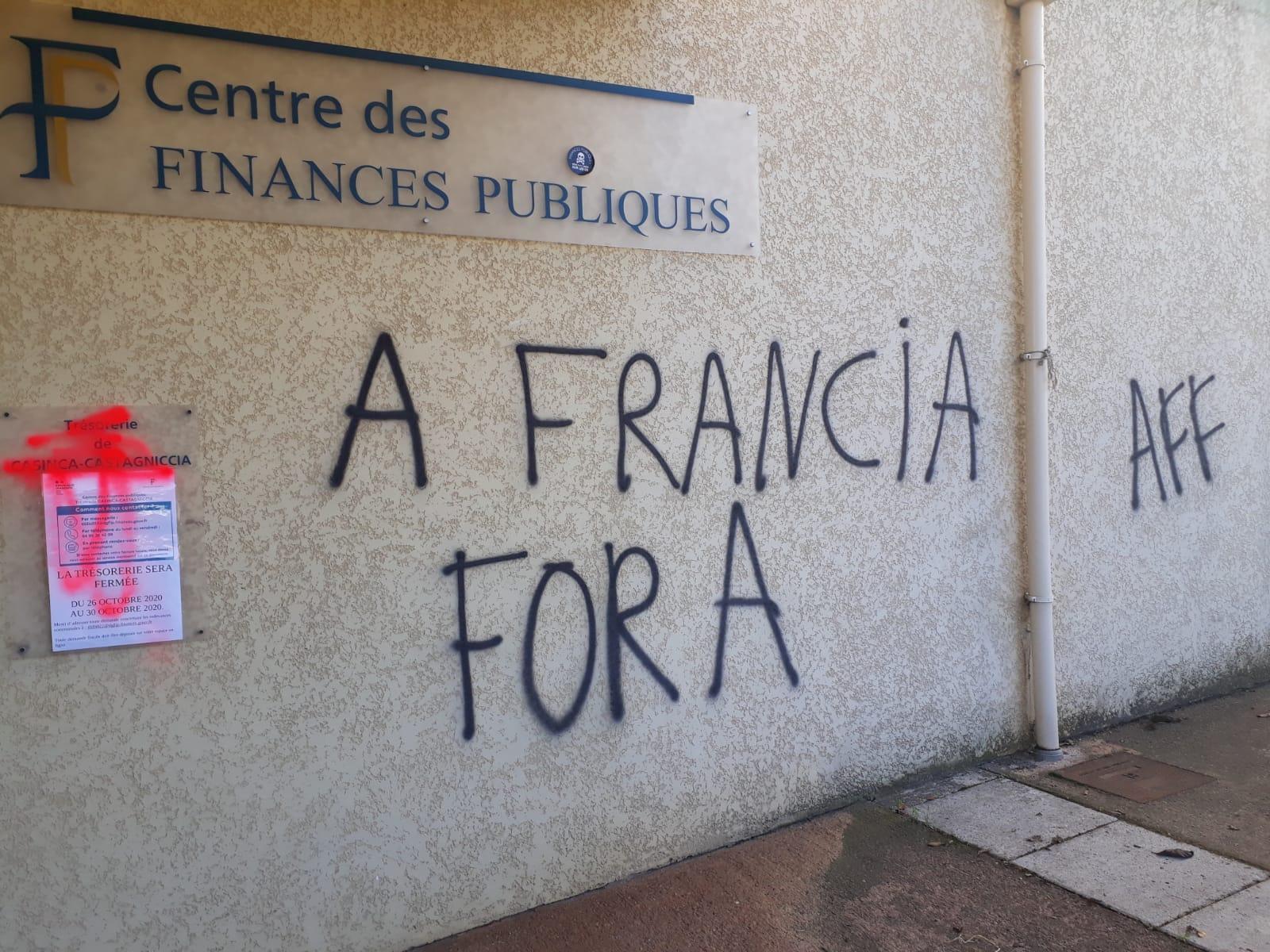 Tags injurieux à la trésorerie de Folelli : «Un acte stupide» dénonce la CGT