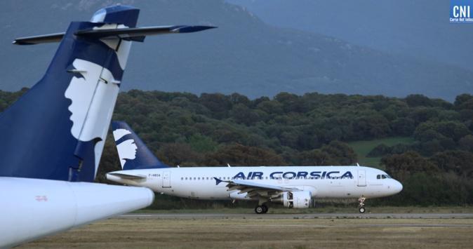 Retours des vacances et fêtes de la Toussaint : tous les vols de Air Corsica maintenus