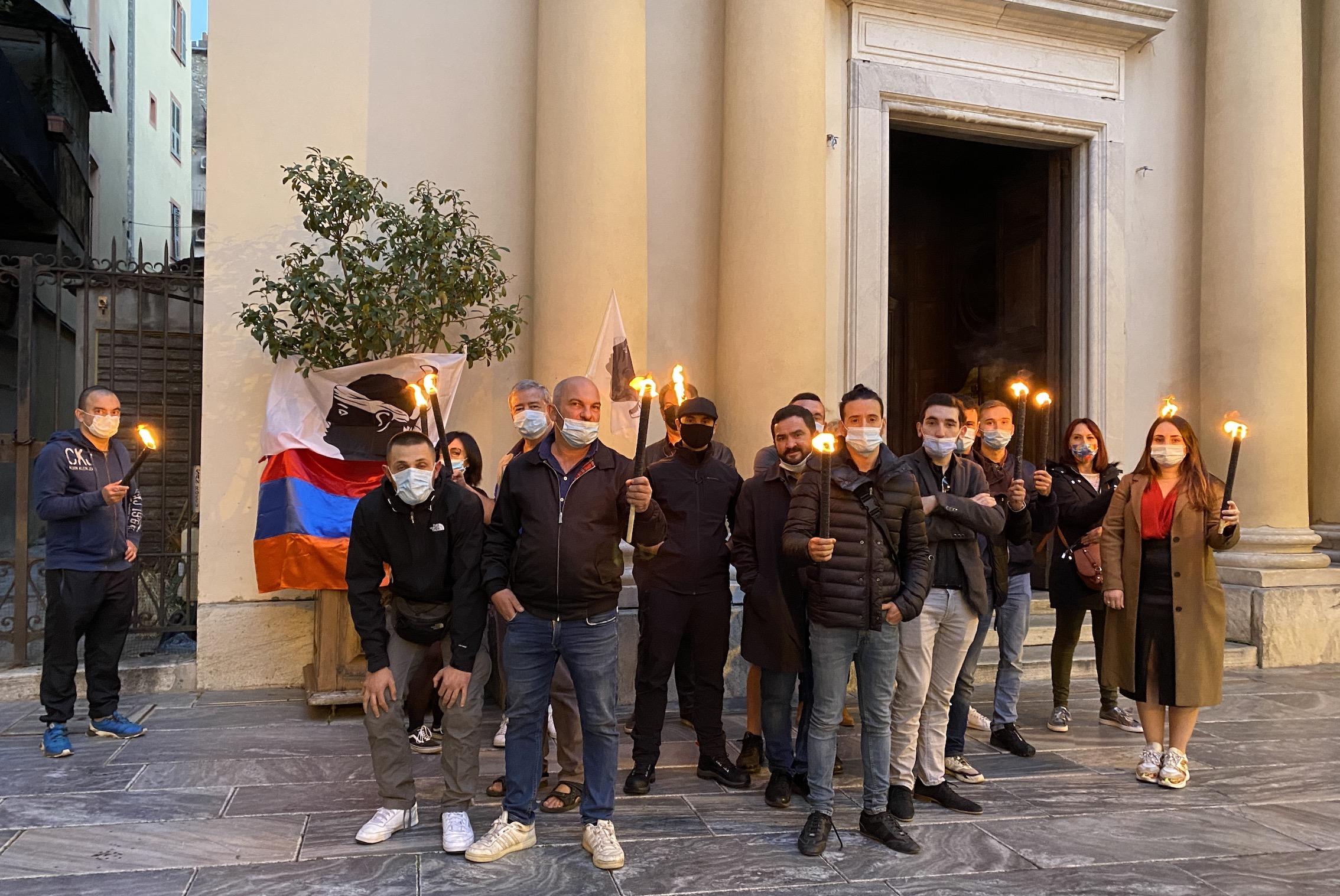 Bastia : hommage aux victimes de l'attentat de Nice