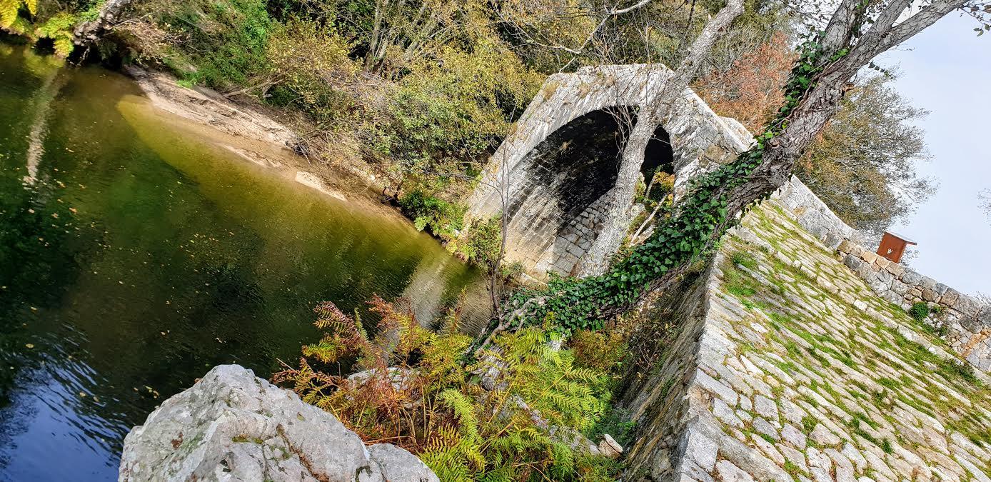 La photo du jour : le pont de la Trinité à Olivese