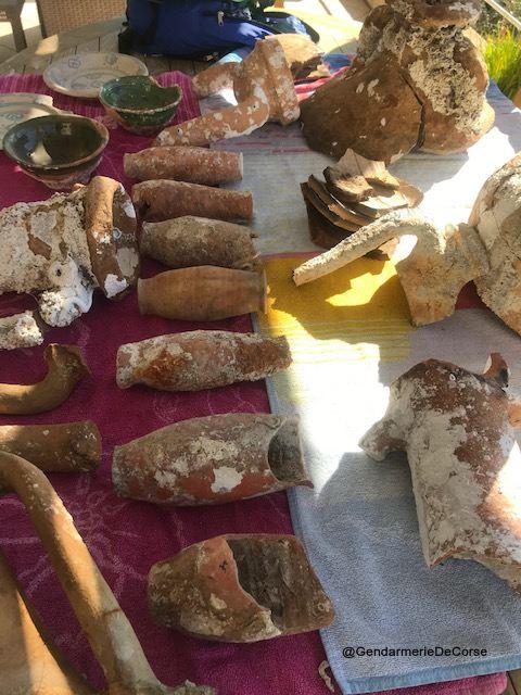 Serra di Ferro : la gendarmerie saisit des objets archéologiques à un particulier