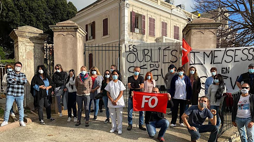 IME/SESSAD Les Tilleuls de Figarella : les agents exclus du Ségur de la Santé