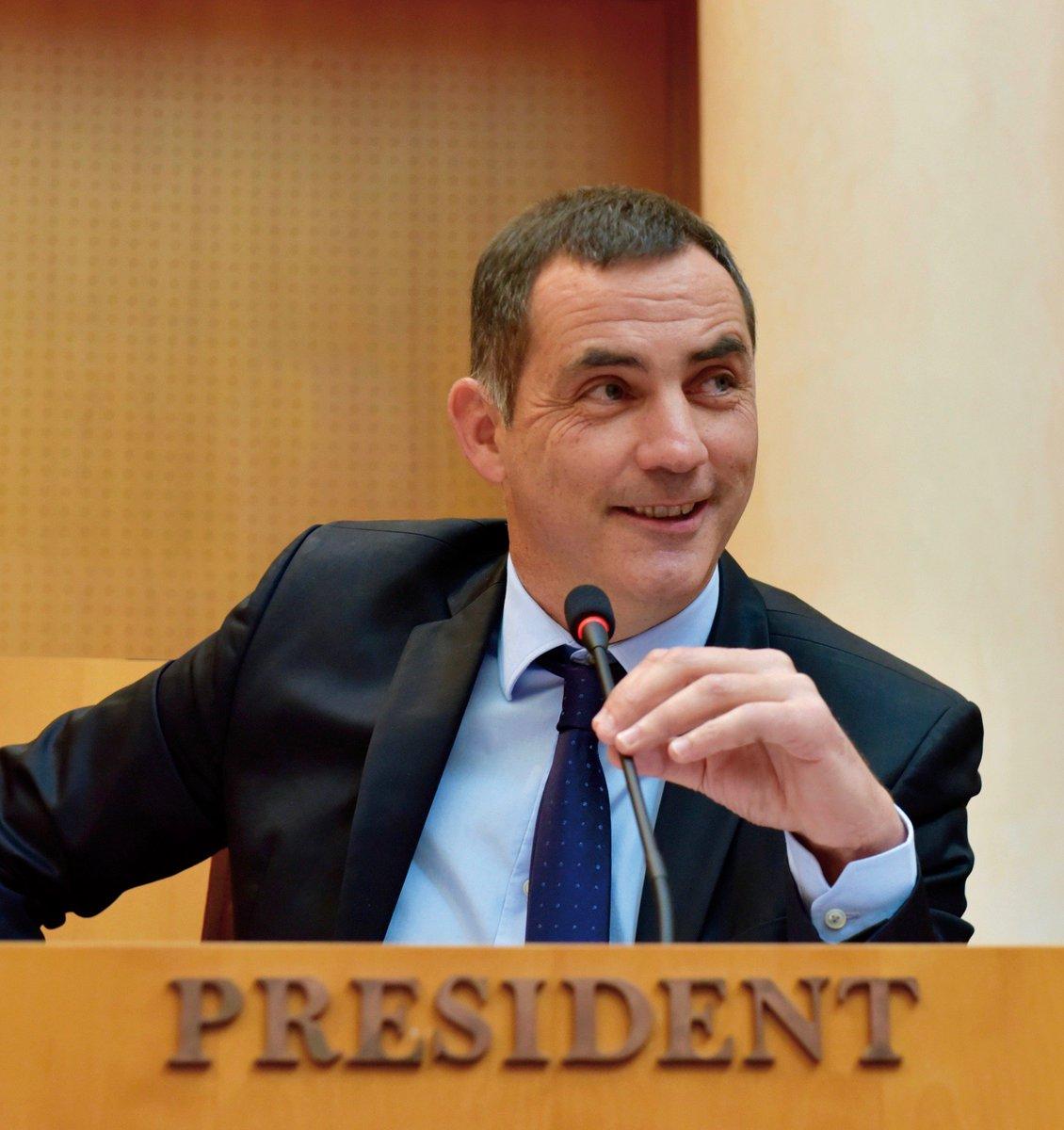 Gilles Simeoni, président du Conseil exécutif de Corse. Photo d'archive Michel Luccioni.