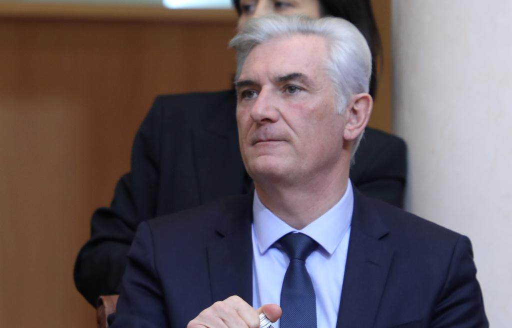 Xavier Lacombe. Photo Michel Luccioni.