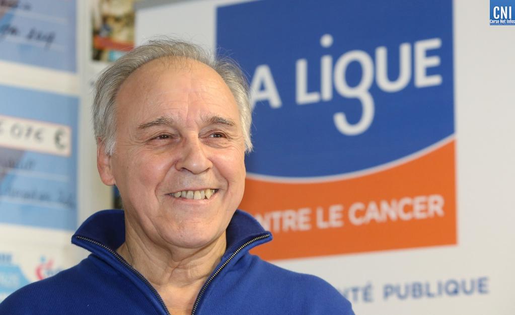 Le docteur Sauveur Merlenghi, président de la Ligue contre le Cancer de Corse-du-Sud