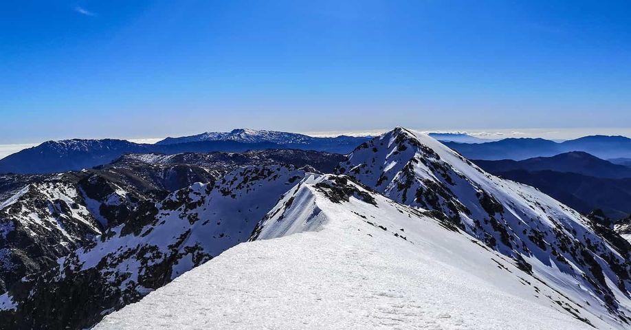 La photo du jour : au sommet de la Punta à a Vetta