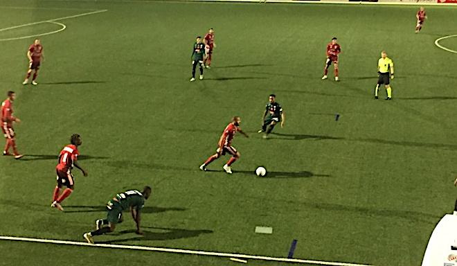 Le FC Bastia-Borgo cède à Cholet (3-1)