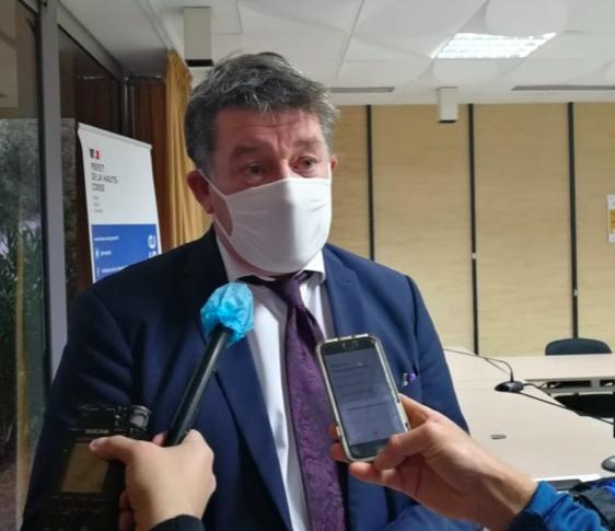 Le préfet de Haute-Corse François Ravier a précisé les déclinaisons locales de l'allègement du confinement national