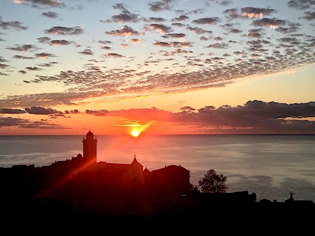 La photo du jour : u sole splende sopra Bastia