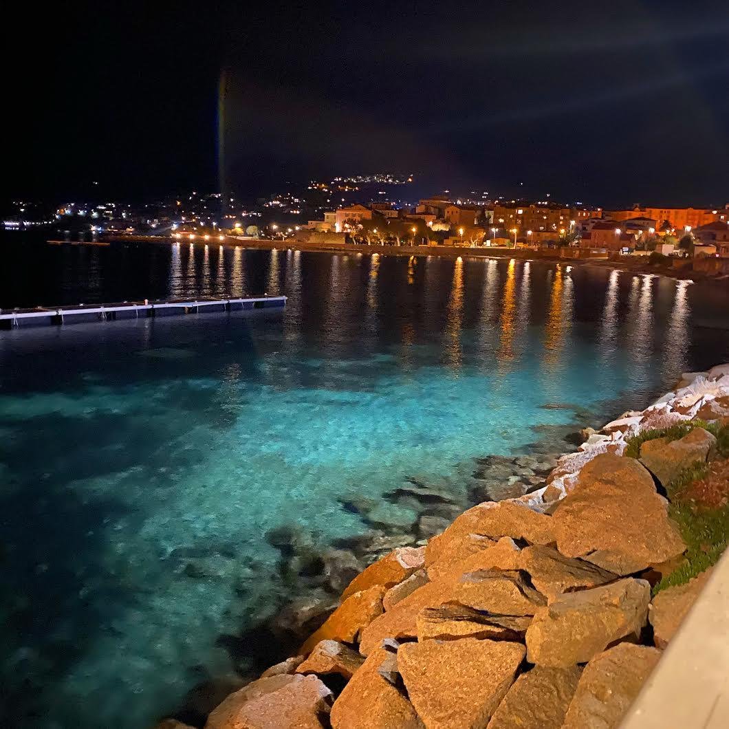 La photo du jour : Lisula la nuit