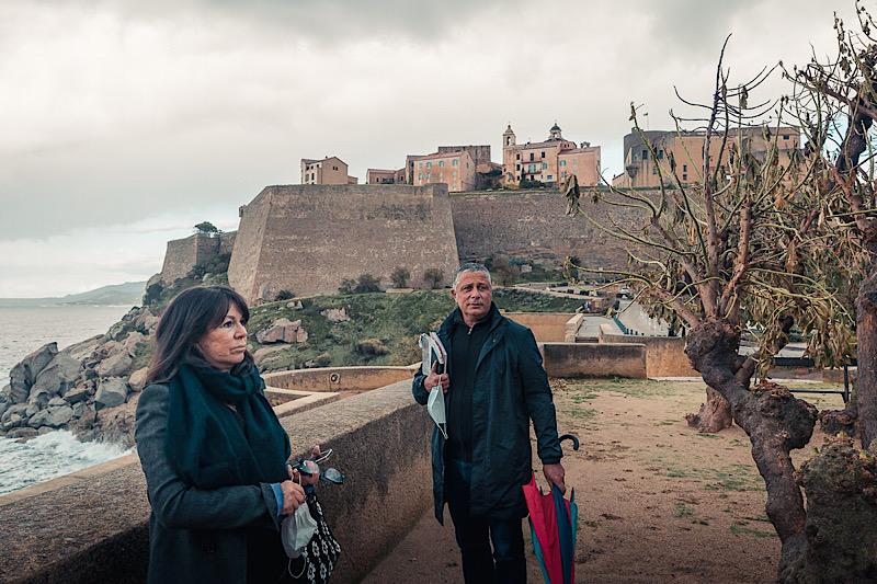 Pierra Simeoni et Didier Bicchieray adjoints au Maire en charge des festivités et animations. Photo Eyefinity Prod / Kevin Guizol