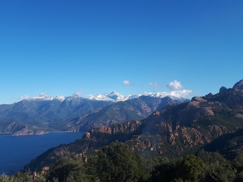 La photo du jour : vue sur le toit de la Corse