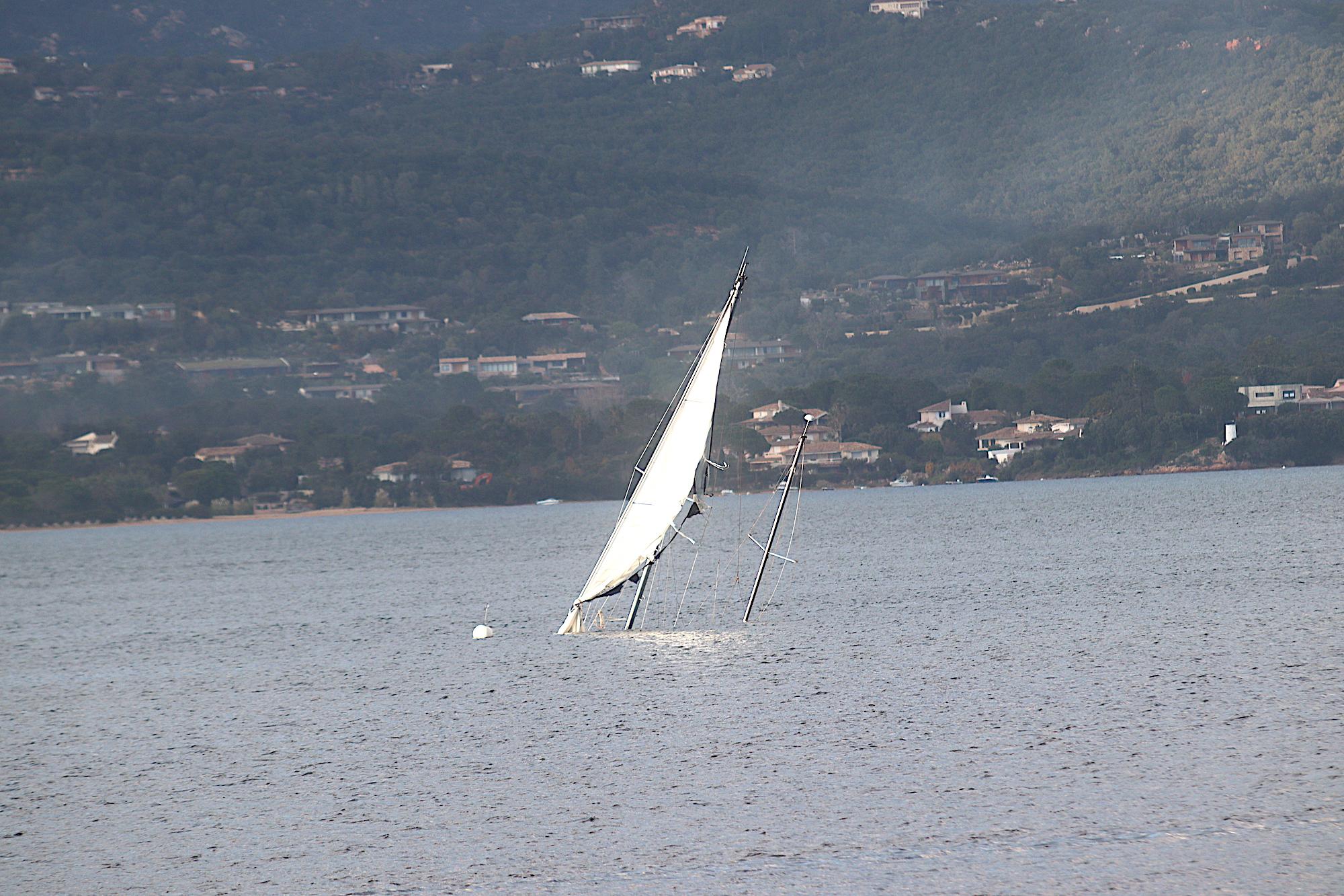 Porto-Vecchio : il n'y a pas que dans le Vendée Globe que cela chavire