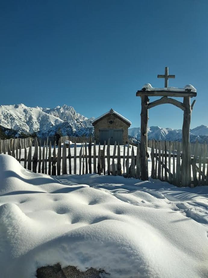 La photo du jour : San Eliseu, les pieds dans la neige