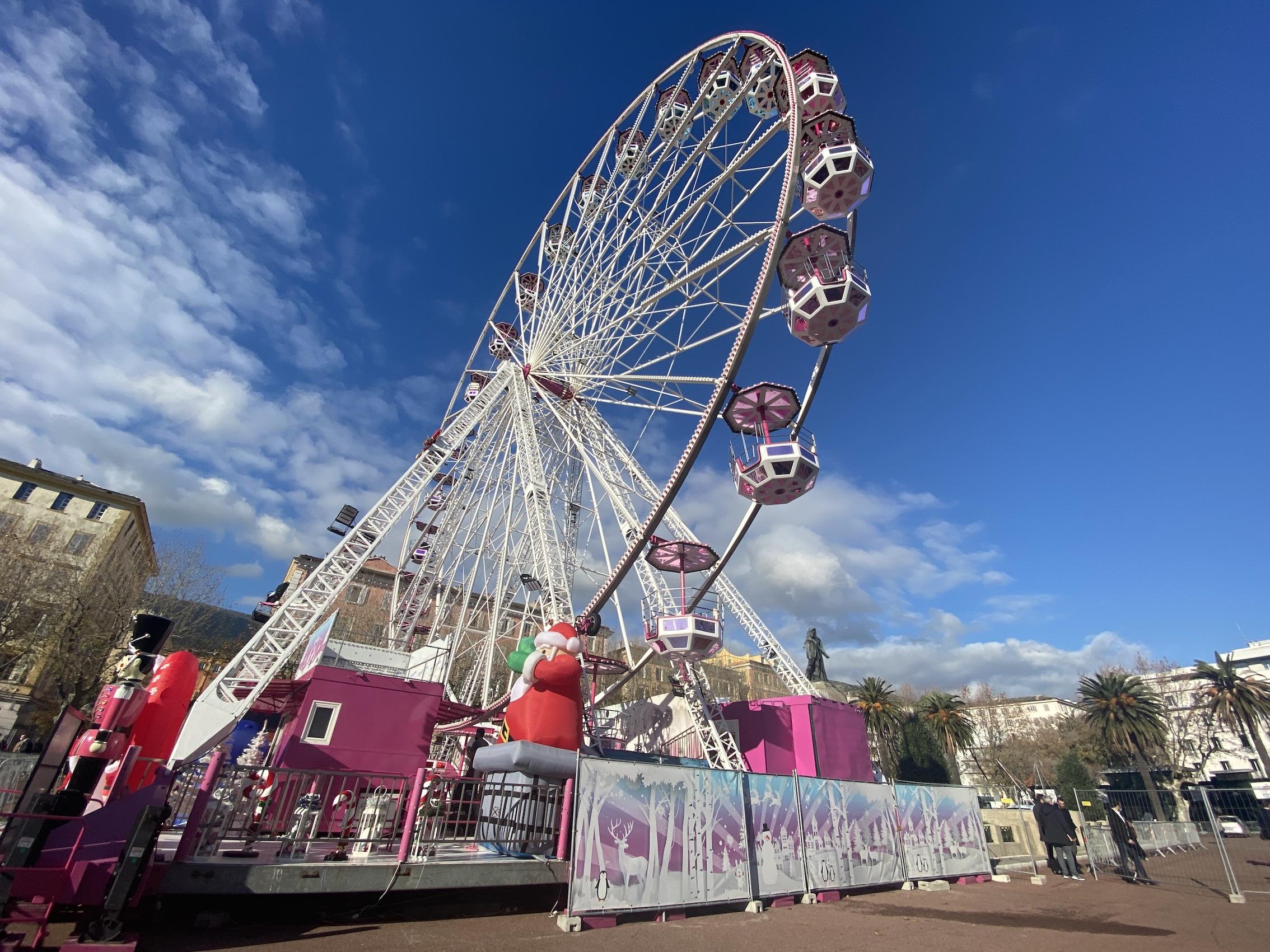 Grande roue de Bastia à l'arrêt forcé, la mairie engage des recours