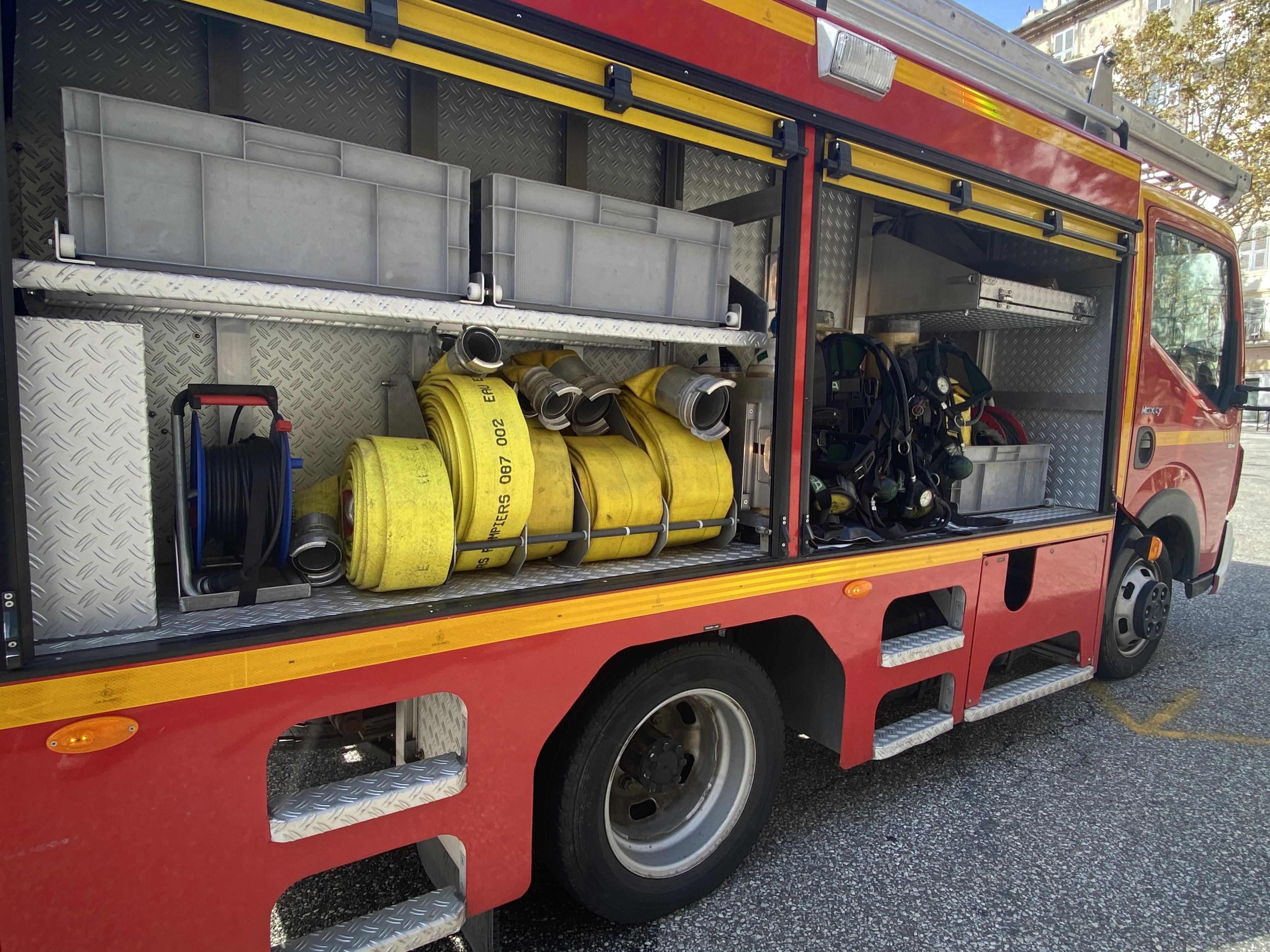 Un compteur électrique prend feu à Bastia