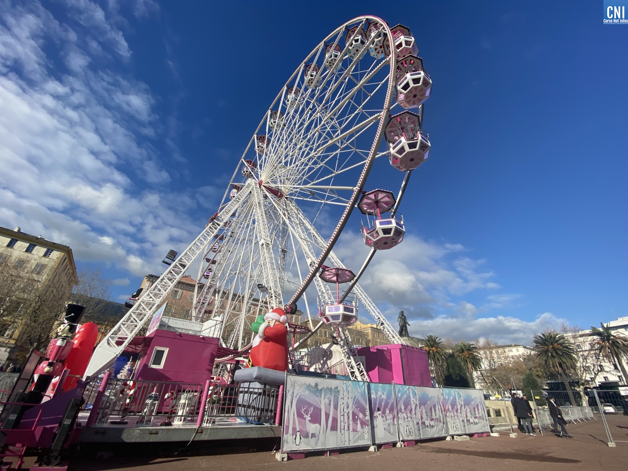 A Amiens, la grande roue tourne