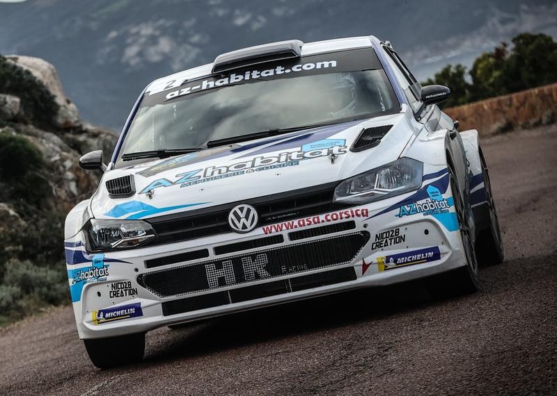 Jean Mathieu Léandri vainqueur du Rallye de Balagne (Photos Eyefinity Prod/Kevin Guizol