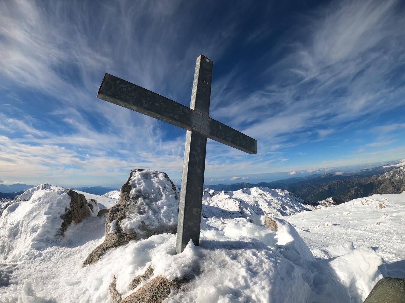 La photo du jour : au sommet du Monte Renosu