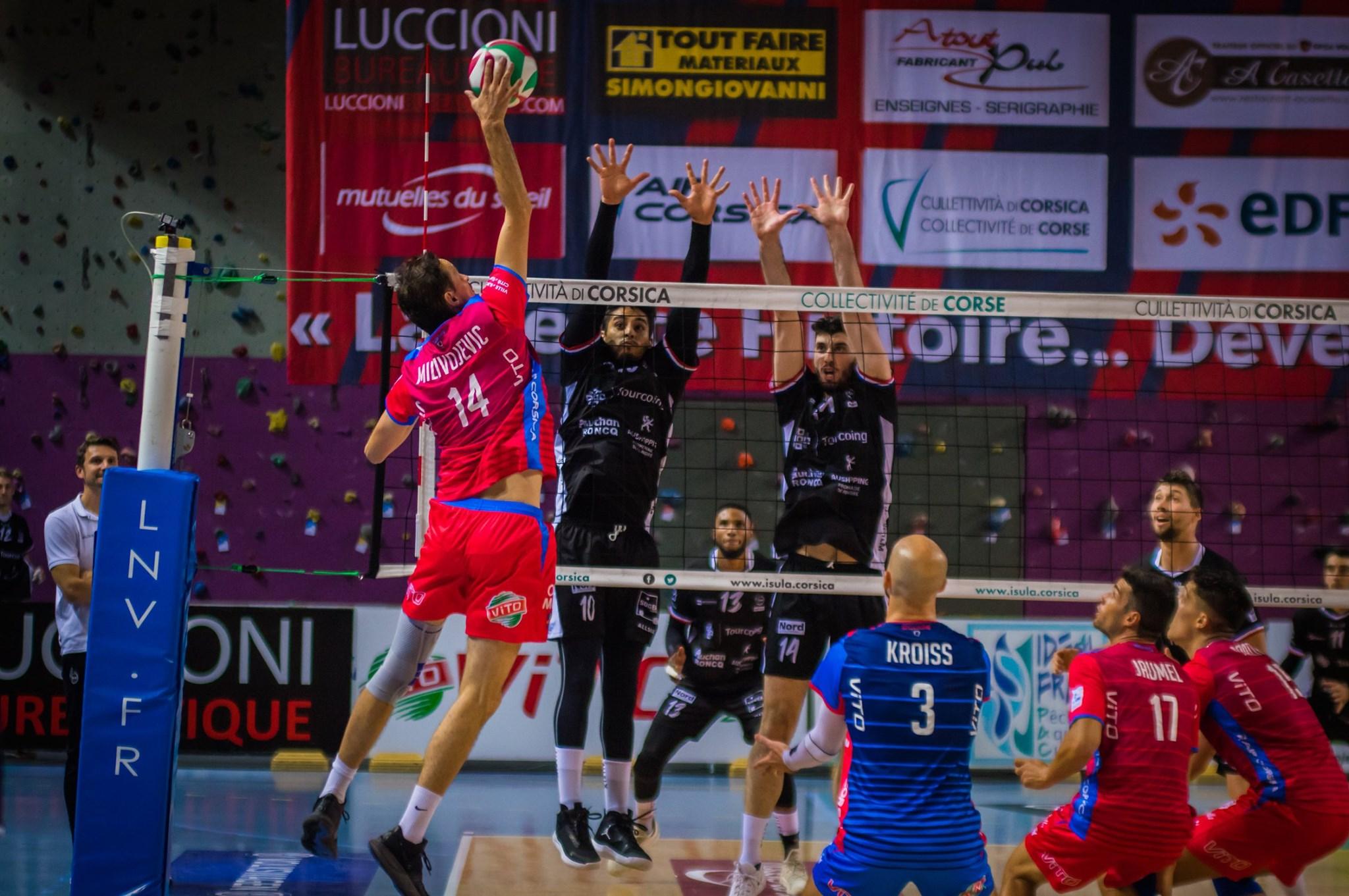 Volley : Le GFCA termine l'année sur une défaite