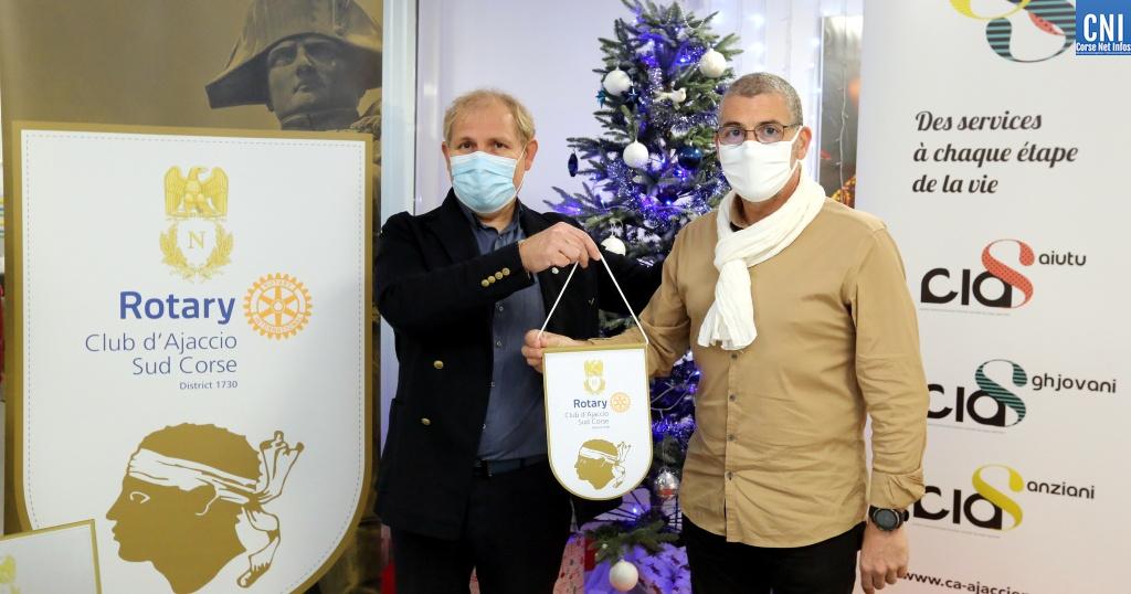 Le Rotary club Ajaccio Sud-Corse et le CIAS apportent une aide à 224 familles en difficulté