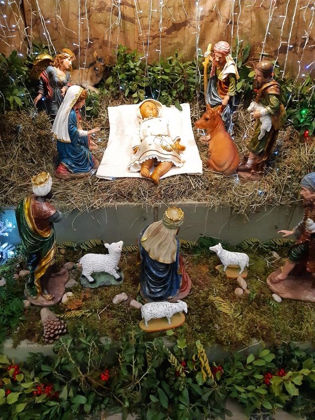 Plus de 60 ans après l'enfant-Jésus datant du 19ème siècle a retrouvé sa place dans la crèche de l'église de Lavatoghju