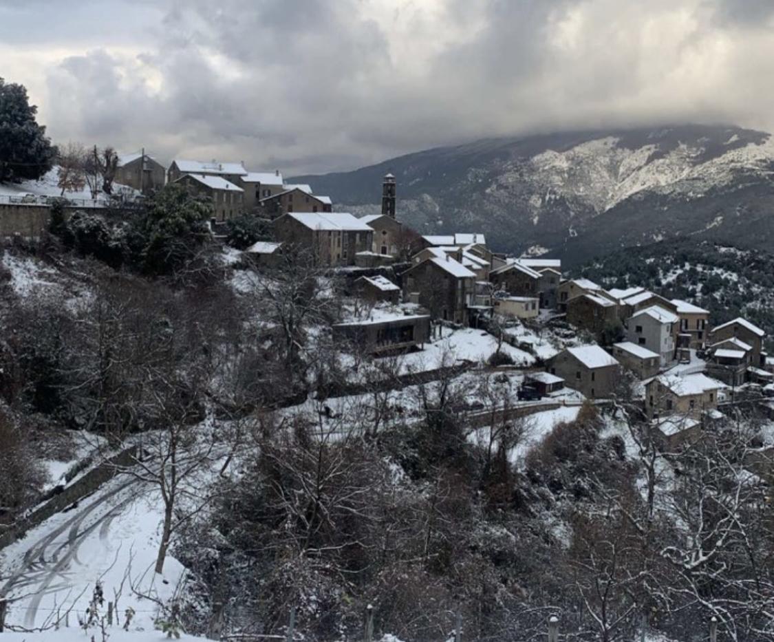 Neige en Corse : vos plus belles photos