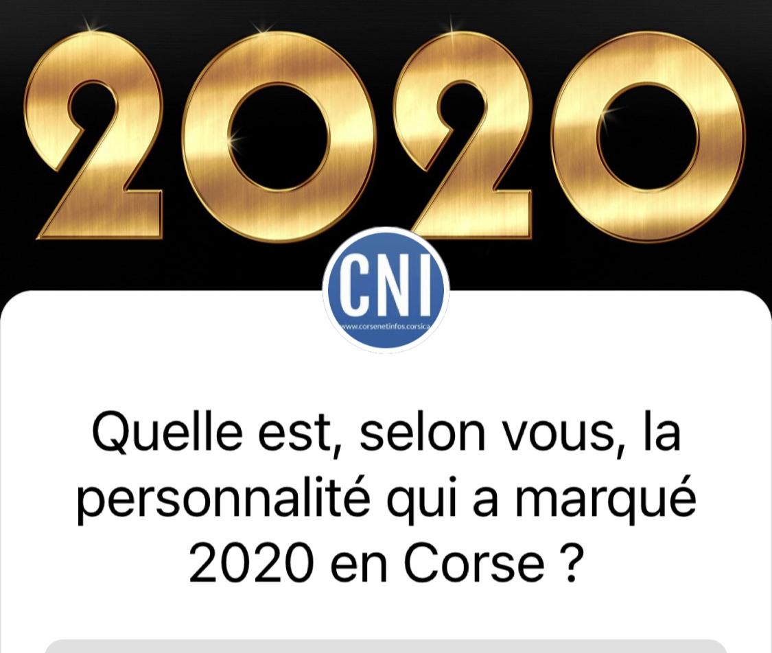 Personnalité corse de l'année 2020 : choisissez votre candidat