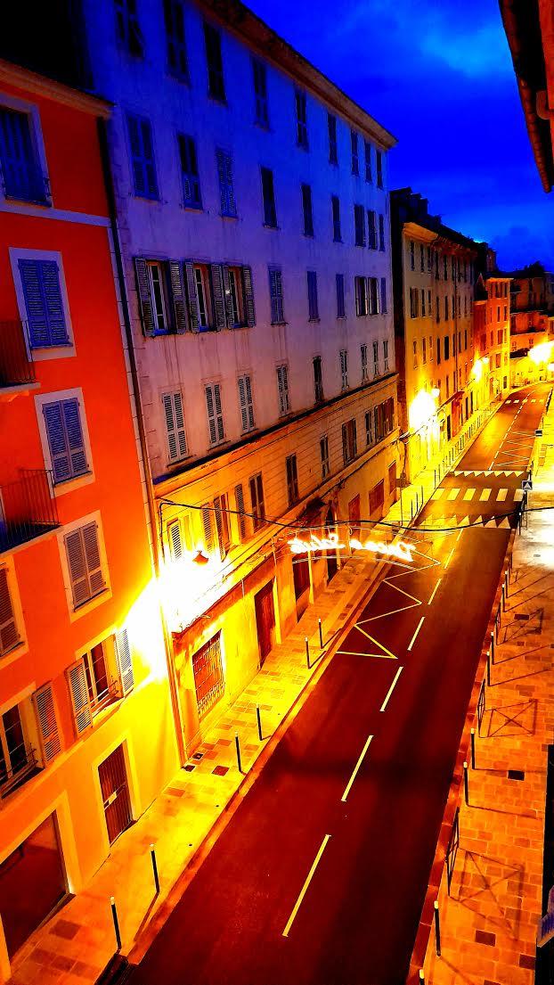 La photo du jour : à Bastia, les couleurs du boulevard Auguste-Gaudin