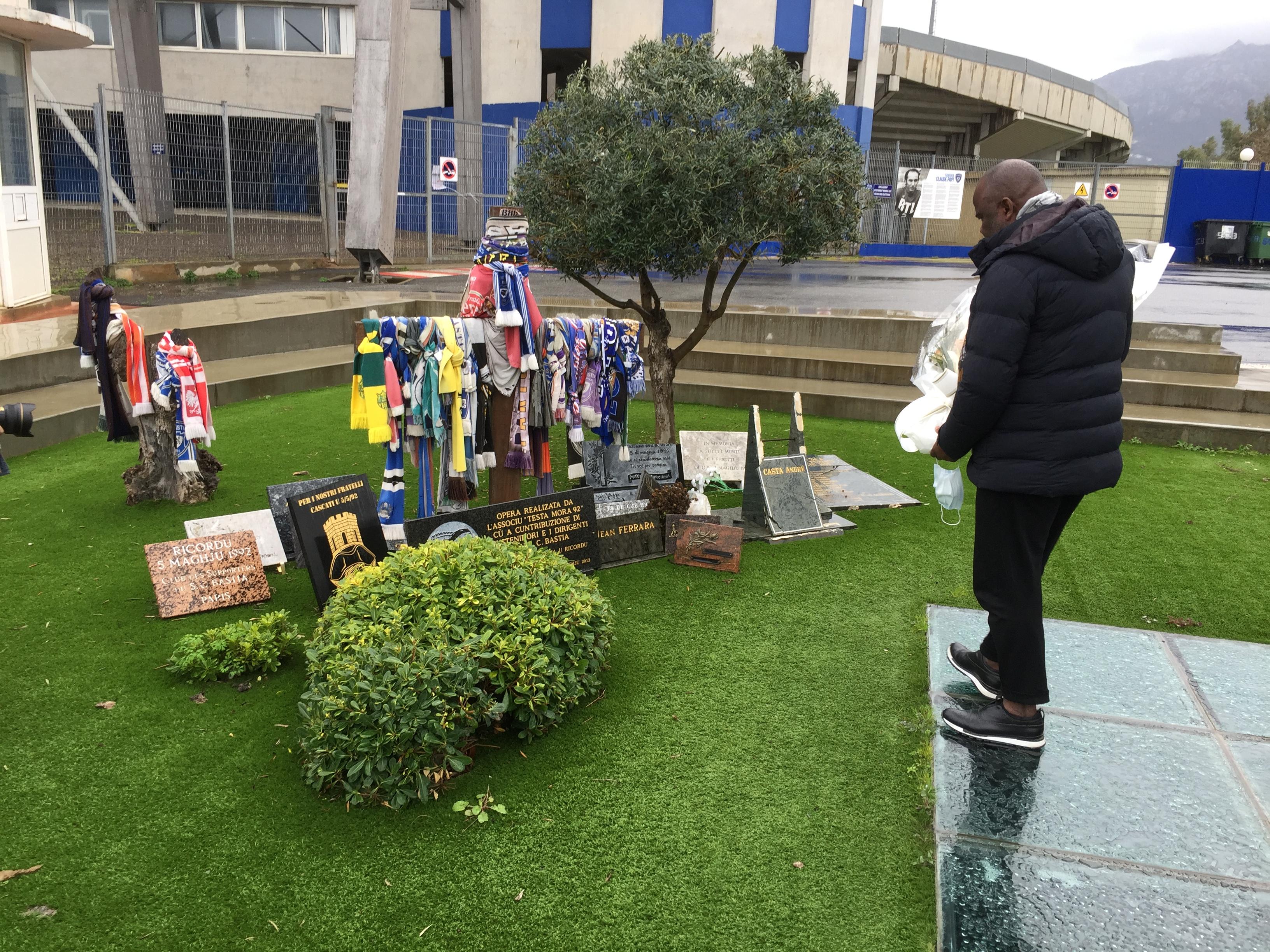 Basile Boli en Corse : «Il faut une dotation spéciale pour le football corse»