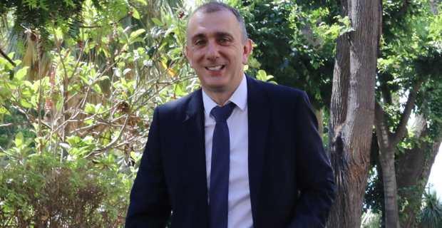 Jean-Christophe Angelini, Conseiller exécutif, président de l'ADEC et de l'Office foncier, maire de Portivecchju, président de la ComCom de l'Extrême-Sud et leader du PNC. Photo Michel Luccioni.