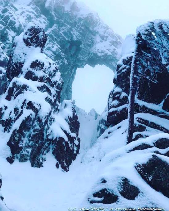 La photo du jour :  Le Cumpuleddu en habits d'hiver