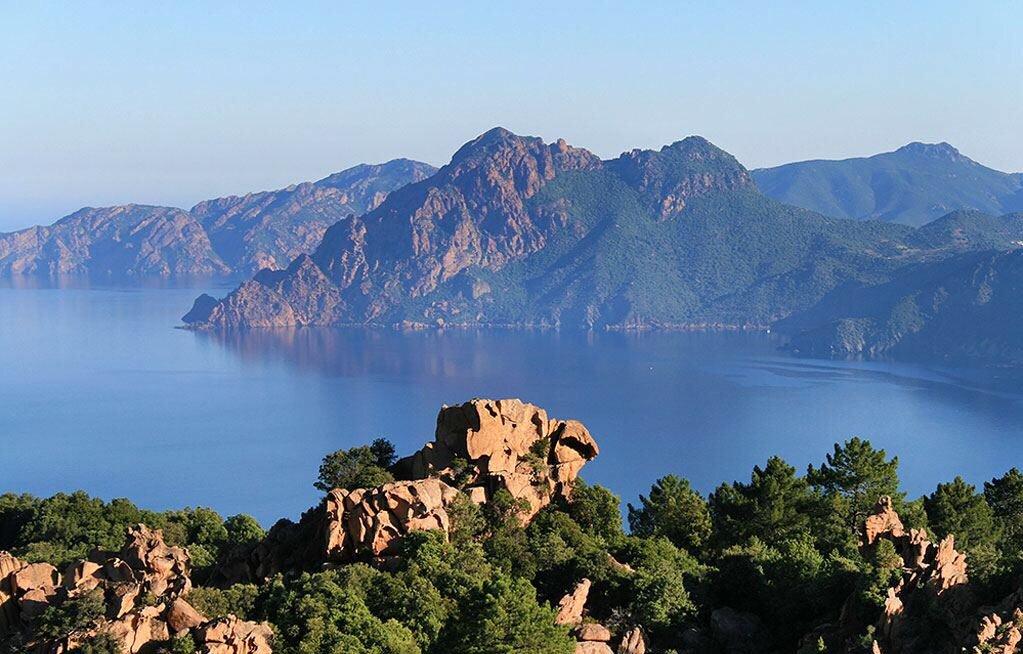 La pointe du Cap Corse.