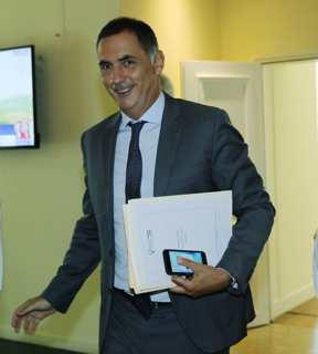 Gilles Simeoni, président du Conseil exécutif de la Collectivité de Corse et Président de la Commission des Iles de la Conférence des Régions Périphériques Maritimes (CRPM) de l'Union européenne. Photo Michel Luccioni.