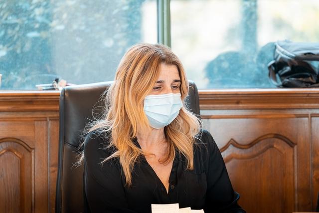 Angèle Bastiani, maire de l'Isula (Photo Eyefinity Prod/Kevin Guizol