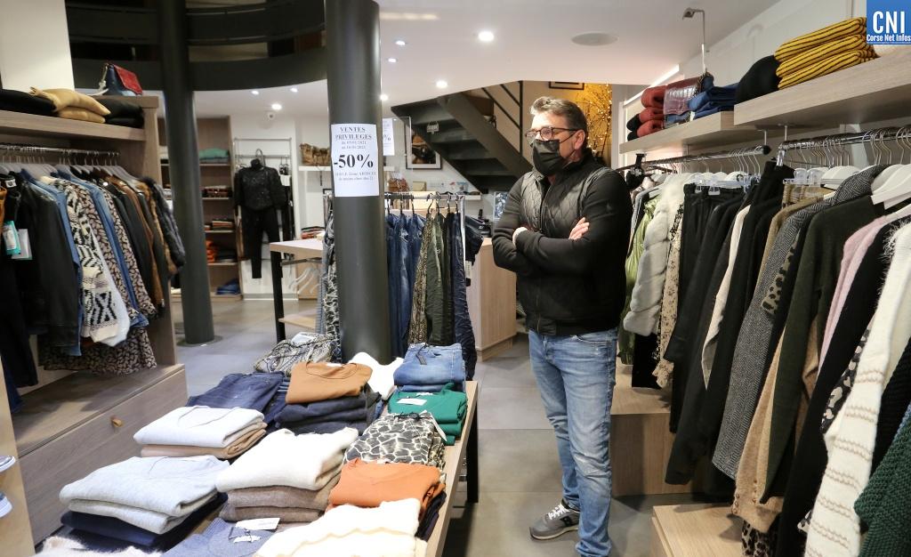 La boutique Zoom à Ajaccio. Photos : Michel Luccioni