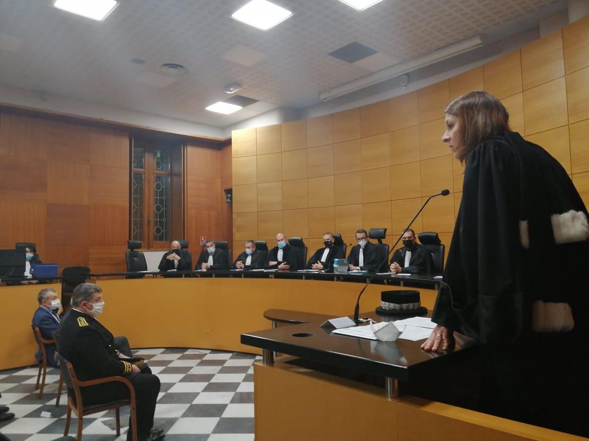 L'audience solennelle de rentrée du tribunal de commerce de Bastia a marqué la fin de toutes les audiences solennelles de rentrée des différentes juridictions du palais de justice de Bastia.
