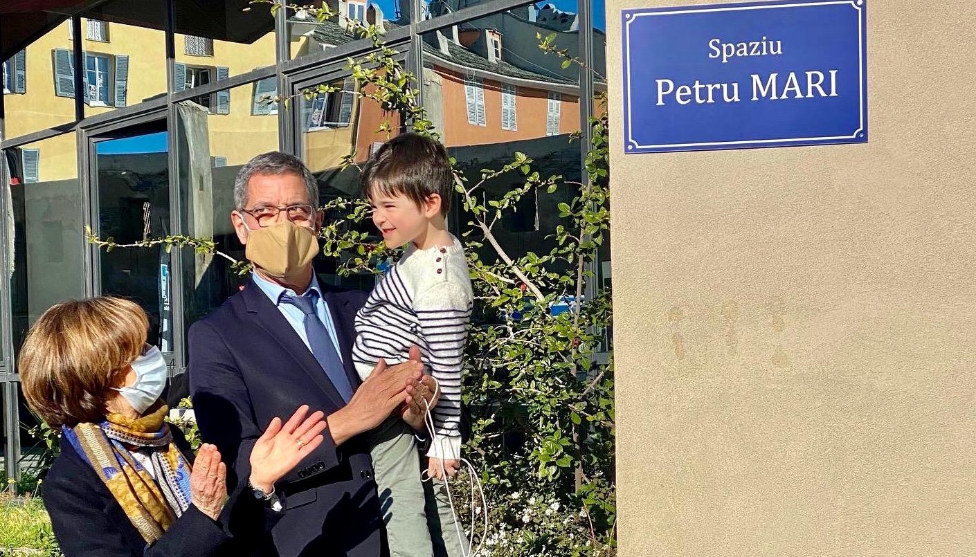 Bastia : Un spaziu à la mémoire de Petru Mari