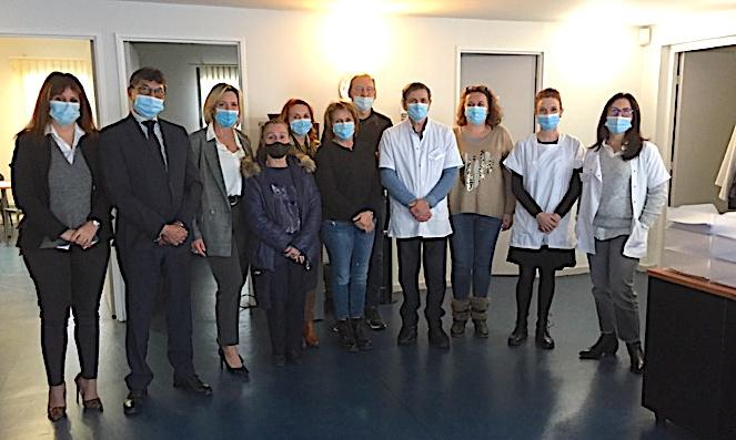 Objectif de la CPAM de Haute-Corse, promouvoir ce bel outils qu'est le Centre d'Examens de Santé de Lupino