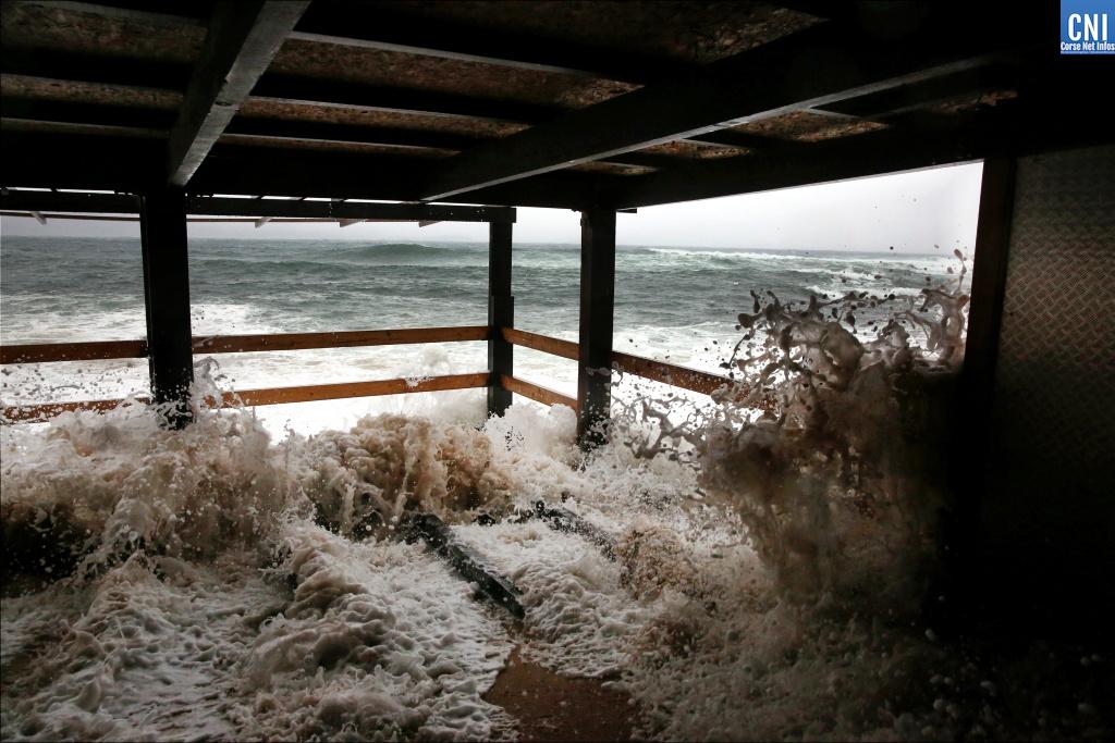 Tempête Hortense : des rafales de vents à 214 km/h à Cagnanu