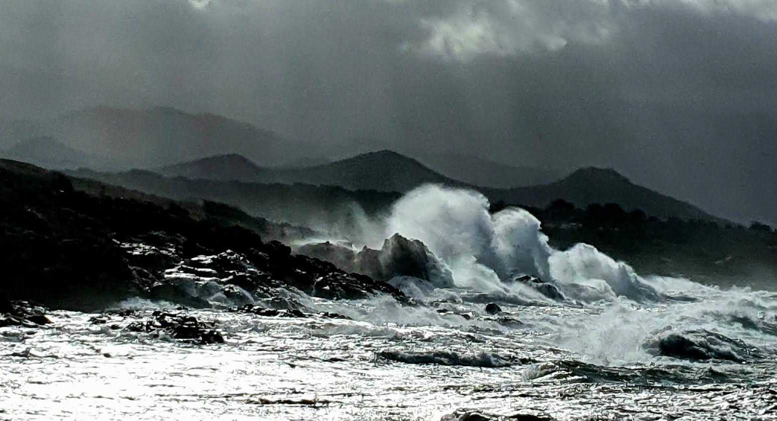 La tempête à Lumiu (Photo Barbara Laquerriere)