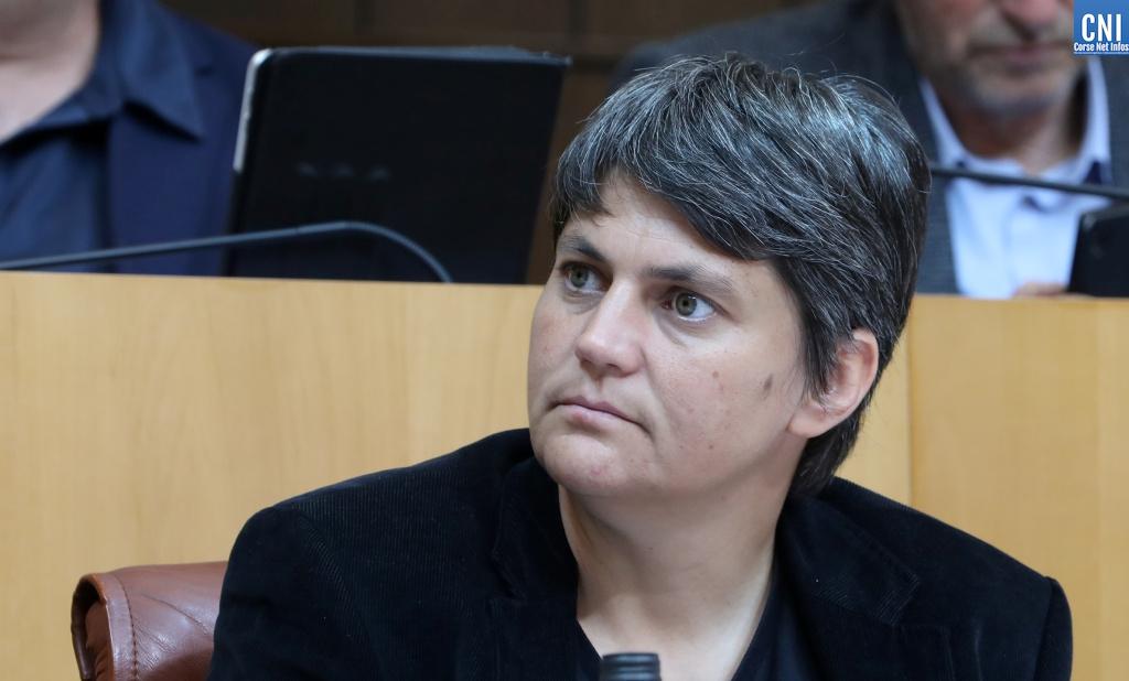 La nouvelle présidente de l'Office Public de l'Habitat de la Collectivité de Corse Juliette Ponzevera. Photo : Michel Luccioni