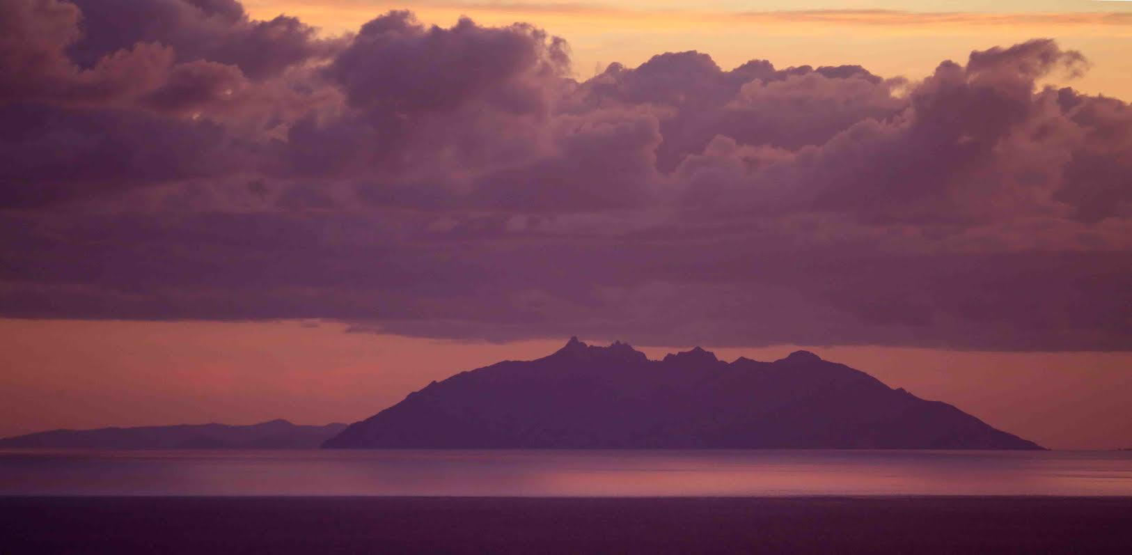 La photo du jour : l'isula di Monte Cristu