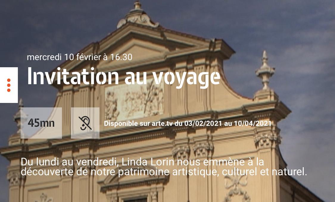 """Arte : la Corse à l'honneur dans l'émission """"Invitation au Voyage"""""""