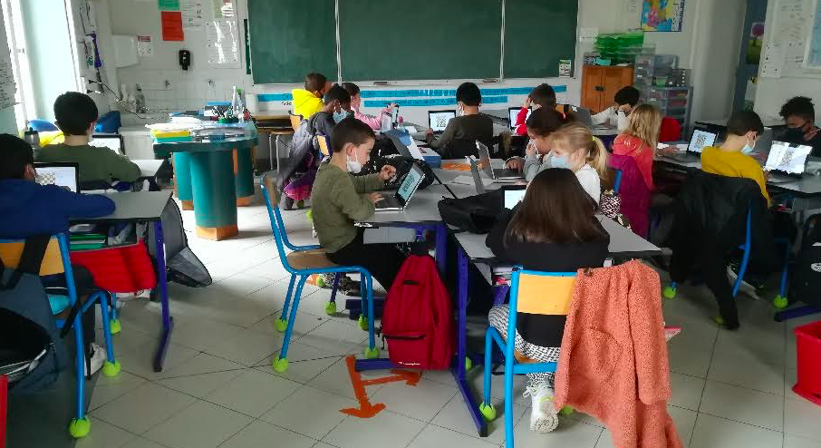 """Haute-Corse : Près de 200 élèves ont participé à la 12e édition (en ligne) de """"Scacchi in paese"""""""