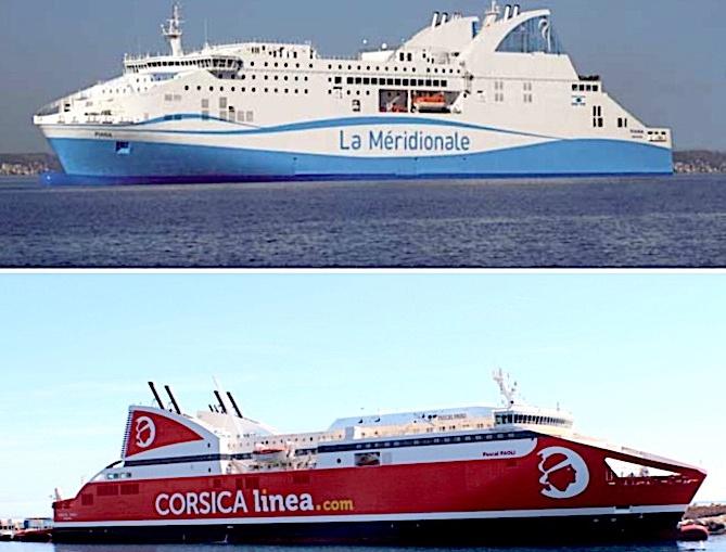 DSP Maritime : Corsica Linea et La Méridionale préssenties pour une DSP transitoire